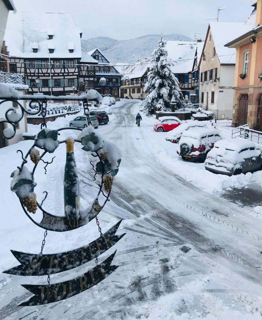 Janvier sous la neige !